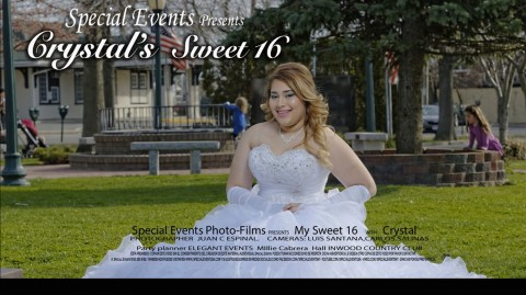 SPECIAL EVENT |  Crystal's Sweet 16