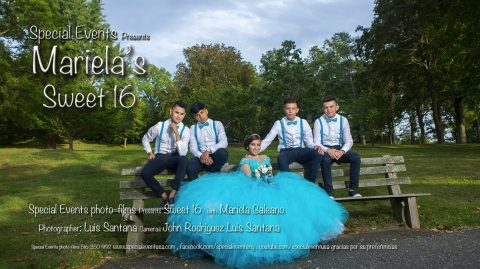 SPECIAL EVENT | MARIELA SWEET 16